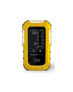 BW Ultra 5-gas detector (O2, LEL, H2S, CO, VOCs), Yellow - HU-X1W1H1M1Q1-Y-N