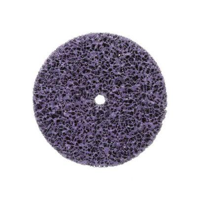 3M Scotch-Brite Clean and Strip XT Purple Disc, 4 in x 5/8 in (20pcs/case)-7000040211