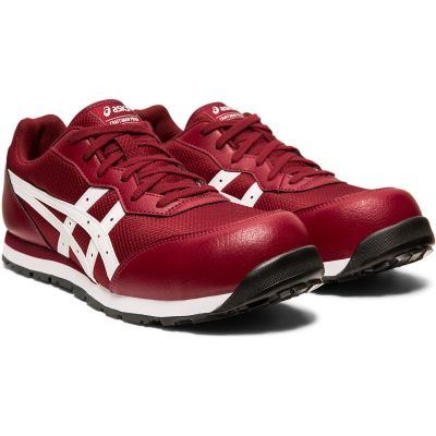 148-7803-Asics Protective Sneaker Shoes size 42.0 (Maroon) -FCP201.60027.0